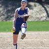 Georgetown:Georgetown's Sarah Erlandson pitches during the Royal's game at home against Triton.Jim Vaiknoras/Staff photo