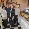 Rowley : The Winfrey family; Stu, Chris, Scott, Jillian and Mark at their Rowley store. Jim Vaiknoras/Staff photo