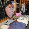 Newburyport: Shari Wilkinson, right, and Lisa Knight, look over clothing for the Swishista Swap Party next Thursday, April 9, at 5 p.m. at the Mission Oak Grill, 26 Green St., Newburyport.