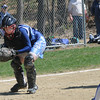 Georgetown:Triton's Gail Lebrun throws to first after a Georgetown bunt.Jim Vaiknoras/Staff photo