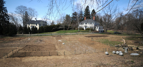 Newbury:The organic garden behind the First Parish Church in Newbury.Jim Vaiknoras/staff photo