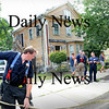 Georgetown: Firefighters break down equipment from a small fire at 32 West Main Street in Georgetown on Wednesday afternoon. Bryan Eaton/Staff Photo Newburyport News   Wednesday August 26, 2009.