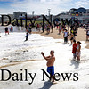 Salisbury: People check out the surf at high tide at Salisbury Beach yesterday as Hurrican Bill churned up the water. Bryan Eaton/Staff Photo Newburyport News Sunday August 23, 2009.