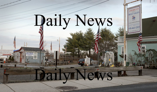 Newburyport: The Newburyport City Council will consider paying the owners of the property of American Marine and Boat Storage on Water Street more money for the emminent domain taking. The city wants to expand the water treatment plant on the property. Bryan Eaton/Staff Photo