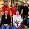 Amesbury: This year's Unsung Student awards were presented to students for great achievement that sometimes go unrecognized at Amesbury High School on Thursday morning. Front from left, Jesse Santosuosso, Brianne Walker, Samantha Fortin and Isaac Mears. Back, from left, Marc Sweazey, Christian Soucy, Christian Boyle, Perry Mroz, Matt Talbot and Adam Ivanzic. Bryan Eaton/Staff Photo