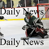 Newburyport: Newburyport's Cameron Roy (4) beats Pentucket goalie Andrew Mueskes on a breakaway during the Clippers 9-0 victory Saturday afternoon. Photo by Ben Laing/Staff Photo