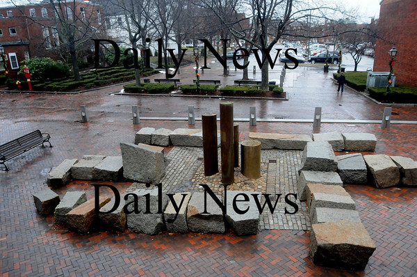 Newburyport: The fountain on Inn Street in Newburyport. Jim Vaiknoras/Staff photo