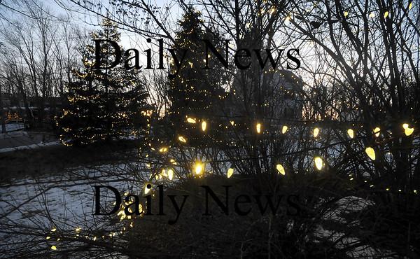 Merrimac: The lights on West Main Street in Merrimac that were stolen. Jim Vaiknoras/Staff photo