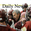 Salem: Newburyport head coach Paul Yameen. Photo by Ben Laing/Newburyport Daily News Friday February 27, 2009.