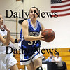 Lynnfield: Georgetown's Kelly Gillen (31) drives towards the hoop in Monday night's game at Lynnfield.  Photo by Ben Laing/Newburyport Daily News Monday February 2, 2009.