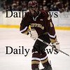 Salem: Newburyport's Derek Freeman (8). Photo by Ben Laing/Newburyport Daily News Friday February 27, 2009.