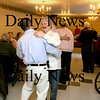 Newburyport:<br /> Al Gardella, from AMR, dances with Dianne Konstandouros from the James Steam Mill at a Community Service Valentine Brunch at the Country Manor. The facility hosted the event, with another scheduled for Easter, for seniors living in Newburyport's four elderly housing complexes.<br /> Photo by Bryan Eaton/Newburyport Daily News Thursday, February 12, 2009