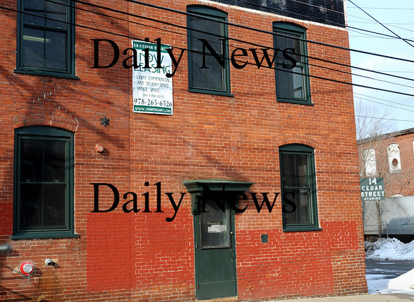 Amesbury:<br /> The former site of Henschel Co. at 14 Cedar Street is filling up with various offices and artist lofts.<br /> Photo by Bryan Eaton/Newburyport Daily News Monday, February 23, 2009