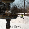 Newburyport:<br /> Newburyport Department of Public Services were dumping snow and spreading it out for a snow jump for this weekend's Winter Carnival at the Bartlet Mall on Wednesday.<br /> Photo by Bryan Eaton/Newburyport Daily News Wednesday, February 04, 2009