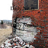 Newburyport:<br /> Parts of the 14 inch thick walls of the Powder House have crumbled away. The repairs will be made using as many original bricks as possible and with lime mortar, which was the type originally used when the structure was built in 1822.<br /> Photo by Bryan Eaton/Newburyport Daily News Thursday, February 26, 2009