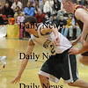 West Newbury: Pentucket's Harry Shea steals the ball during their game against Newburyport at West Newbury Friday night.photo by Jim Vaiknoras/ Newburyport Daily News. February 6 2009
