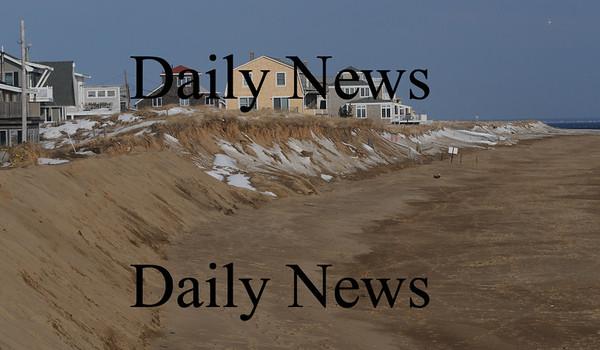 Newbury: Plum Island Beach looking North from the beach center..photo by Jim Vaiknoras/Newburyport Daily News. Feburary 7, 2009
