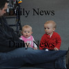 Newburyport: Steve Puleo hangs out with his kids, Weston and Ella, both 7 months at the Newburyport Mother Club  Valentine's dance is at the Hope Church this Saturday. photo by Jim Vaiknoras/Newburyport Daily News. Feburary 7, 2009