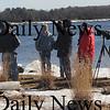 Newburyport:Bird watchers gather on Deer Island in Newburyport to watch eagles on the river  Saturday as part of the 4th annual Newburyport Eagle Festival photo by Jim Vaiknoras/Newburyport Daily News. February 14, 2009