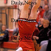 Amesbury: An Amesbury High cheerleader entertains the crowd during Monday night's boys basketball game against Rockport. Photo by Ben Laing/Newburyport Daily News Monday January 12, 2009.