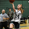West Newbury: After stealing the ball at midcourt, Pentucket's Ashley Viselli (24) strolls in for an easy lay up during Tuesday nights game against Ipswich in West Newbury. Photo by Ben Laing/Newburyport Daily News Tuesday January 20, 2009.