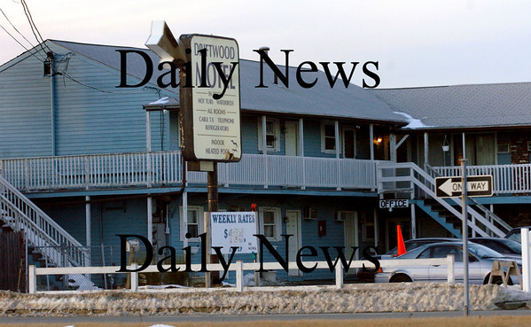 Salisbury:<br /> The Driftwood Motel at Salisbury Beach, just west of the beach center on Beach Road.<br /> Photo by Bryan Eaton/Newburyport Daily News Tuesday, January 06, 2009