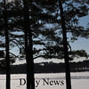 West Newbury:<br /> The Page School in West Newbury sits atop Pipestave Hill in a view from River Road in Amesbury viewed across the snow-covered Merrimack River.<br /> Photo by Bryan Eaton/Newburyport Daily News Wednesday, January 21, 2009