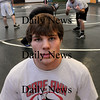 West Newbury:<br /> Pentucket wrestler Ben Stasiuk.<br /> Photo by Bryan Eaton/Newburyport Daily News Thursday, January 22, 2009