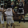 Newburyport: Hamilton-Wenham'.... with a jump shot Tuesday night at Newburyport.  photo by Jim Vaiknoras/ Newburyport Daily News January 27, 2009
