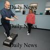 Salisbury: Trainer Debbie Choate works with Mike Scaparotti at Bodytrends in Salisbury.photo by Jim Vaiknoras/Newburyport News Saturday January 10, 2009