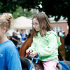 Amesbury: Allie Lebrecque, 6, of Amesbury, take a pony ride at Wednesday night's kickoff to the Amesbury Days celebration. Photo by Ben Laing/Staff Photo