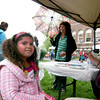 Amesbury: Veronica Ferraro, 7, of Amesbury, gets her face painted during Wednesday night's kick off to the Amesbury Days celebration downtown. Photo by Ben Laing/Staff Photo