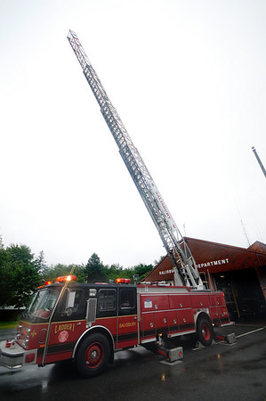 Salisbury: The Salisbury Fire Dept.'s new fire truck. JIm Vaiknoras/Staff photo
