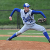 Lynn: Georgetown pitcher Ryan Browner during the Royal's 2-1 victory over North Reading at Fraser Field in Lynn. Jim Vaiknoras/staff photo