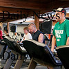 Newburyport: Members at the Fitness Factory in Newburyport workout on the treadmills Tuesday afternoon. Photo by Ben Laing/Newburyport Daily News Tuesday March 3, 2009.