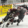 Chelmsford: Gavin LaValley (7) tries to fend off a Lincoln-Sudbury defender during Newburyport's 3-1 victory in Chelmsford. The Clippers will play Canton on Saturday at the TD Banknorth Garden. Photo by Ben Laing/Newburyport Daily News Thursday March 5, 2009.