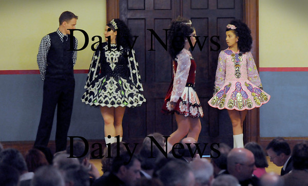 Newburyport:<br /> Students from the Duffin-Murphy School of Irish Dance performed at yesterday's 7th Annual St. Patrick's Day Luncheon.<br /> Photo by Bryan Eaton/Newburyport Daily News Tuesday, March 17, 2009