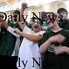 Boston: Pentucket's fans cheer during the Sachems 61-46 loss to Swampscott in the North final at Emmanuel College in Boston Saturday photo by Jim Vaiknoras March 7, 2009