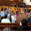 Newbury:Sunday school kids at the First Parish Church in Newbury<br /> have been raising $853.63 which they plan  to donate to the Heifer Project. <br /> photo by Jim Vaiknoras. Newburyport Daily News  Sunday March 8, 2009