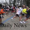 Salisbury: Runners take off at the start of the 28th annual April Fools race at the Winners Circle in Salisbury Saturday.Jim Vaiknoras/Staff photo