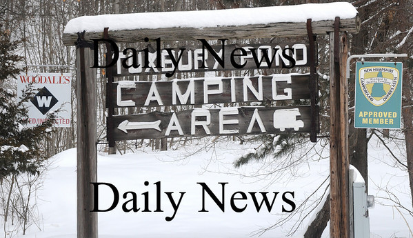 South Hampton: The sign for Tuxbury Pond Camp Ground in South Hampton.photo by Jim Vaiknoras/Newburyport Daily News. Tuesday March 3, 2009