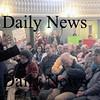 Newburyport:Congressman  John Teirney answers question at Newburyport City Hall Saturday.Jim Vaiknoras/staff photo