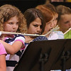 "Newbury: Newbury Elementary School band members play ""My Country 'Tis of Thee"" yesterday during the Annual Spring Concert for the school body. They performed again last night for parents and the community. Bryan Eaton/Staff Photo  Newburyport News  Thursday May 28, 2009."