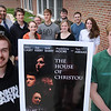 "Newburyport: Newburyport High film class made ""The House of Christou,"" an original adaptation of Antigone, directed by Dylan Romani, left, and Sam Toolan, right, will be screened at the Firehouse Center this Friday. Bryan Eaton/Staff Photo  Newburyport News  Monday May 11, 2009."