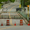 mesbury: Workers out of view prepare the Hines Bridge for reopening which is scheduled for today,  Bryan Eaton/Staff Photo  Newburyport News  Thursday May 14, 2009.