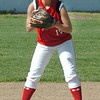 Amesbury: Amesbury shortstop Jackie Webber was ready for action in a recent game with Ipswich. Bryan Eaton/Staff Photo  Newburyport News  Wednesday May 13, 2009.