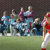 Amesbury: The weather was cooperative for spectators to watch Amesbury softball third baseman Anna Kate Webber and her teammates host Ipswich yesterday, though some wore light jackets for the light breeze. The weather warms up for the weekend. Bryan Eaton/Staff Photo Newburyport News  Tuesday May 12, 2009.