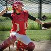 Amesbury: Amesbury softball catcher Laura Kaminski. Bryan Eaton/Staff Photo  Newburyport News  Wednesday May 13, 2009.