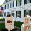 Newburyport: Sarah White, left, and Karen Battles, in front of the Dalton House on State Street, are organizing this year's Preservation Week in Newburyport. The slogan for the event being: This Place Matters, Take a Look. Bryan Eaton/Staff Photo  Newburyport News  Wednesday May 13, 2009.