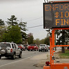 Newburyport: Newburyport police have been cracking down on motorists that go through red lights along Storey Avenue. Bryan Eaton/Staff Photo Newburyport News  Monday May 4, 2009.